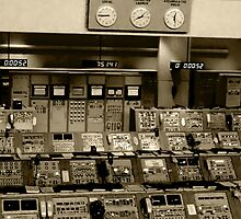 Old NASA Control Room by Dawn Barberis-Viczai