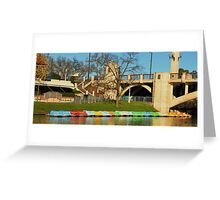 Jolly's Boat House - River Torrens Adelaide Greeting Card