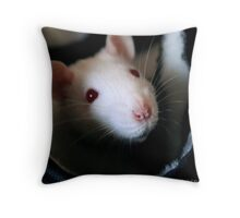 Susie Mouse (color) Throw Pillow