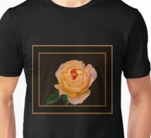 Peach Rose Macro Unisex T-Shirt