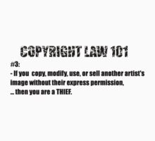 COPYRIGHT 101 #3 - by BYRON