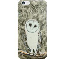 silver owl totem iPhone Case/Skin