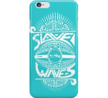 Slave to the Waves Typography iPhone Case/Skin