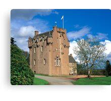Crathes Castle Canvas Print