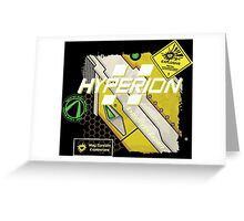 Hyperion Explosives Expert Greeting Card