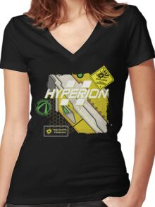 Hyperion Explosives Expert Women's Fitted V-Neck T-Shirt