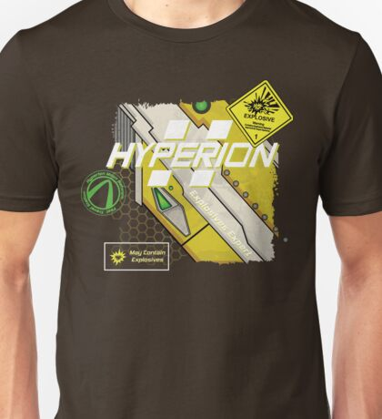 Hyperion Explosives Expert Unisex T-Shirt