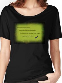 The philosophy of kindness Women's Relaxed Fit T-Shirt