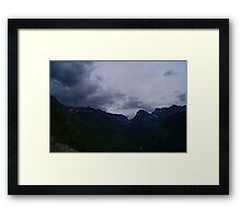 This is why I don`t live in a city . Framed Print