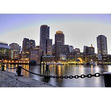 Boston - White Nigths Photographic Print