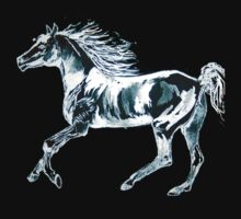 Arab Horse  T SHIRT/STICKER/BABY GROW by Shoshonan