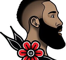 James Harden - Traditional by lugervandross
