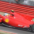 Fernando Alonso - Ferrari F10 - Silverstone 2010  by MSport-Images