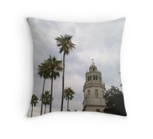 Hurst Castle-San Simeon, CA Throw Pillow