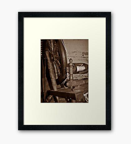 Old Yarn Framed Print