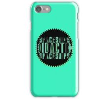 Didactic Horology  iPhone Case/Skin