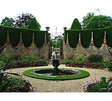 Athelhampton fountains, Dorset Photographic Print