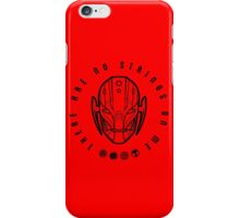 There are no strings. iPhone Case/Skin