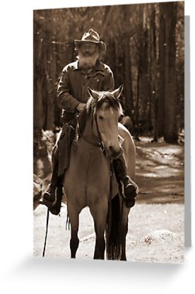 Horseman in the High Country II by Vikki Shedden Photography