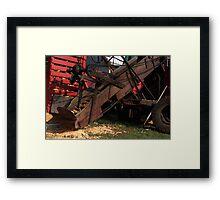 Corn Picker Framed Print