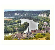 Le Petit-Andely and The Seine Banks Art Print
