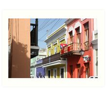 Old San Juan Colors Art Print