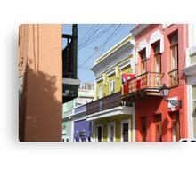 Old San Juan Colors Canvas Print