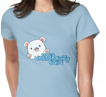 unBEARably Cute Polar Bear Womens Fitted T-Shirt
