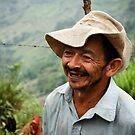 Old Colombian farmer by Alexander Kok