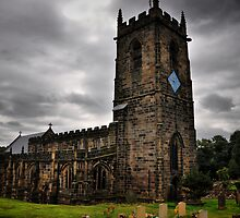 Silkstone Church by Mike Higgins
