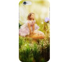 The Toadstool Faerie iPhone Case/Skin