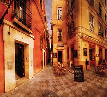 La Esquina Café, Sevilla by Paul Webb