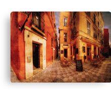 La Esquina Café, Sevilla Canvas Print