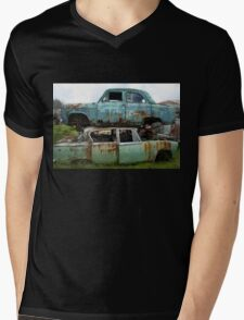 Stacked Cars Mens V-Neck T-Shirt