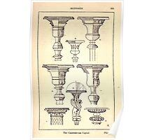 A Handbook Of Ornament With Three Hundred Plates Franz Sales Meyer 1896 0239 Supports Candelabrum Capital Poster