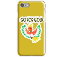 Go for gold ho-oh iPhone Case/Skin