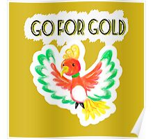Go for gold ho-oh Poster