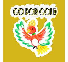 Go for gold ho-oh Photographic Print