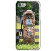 Rusty Gas Pump iPhone Case/Skin