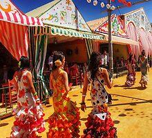 Feria de Abril, Sevilla by Paul Webb