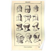 A Handbook Of Ornament With Three Hundred Plates Franz Sales Meyer 1896 0533 Heraldry Forms Helmet Poster