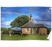 Cottage at Blackness Poster