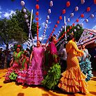 Feria de Abril, Sevilla by Paul Webb