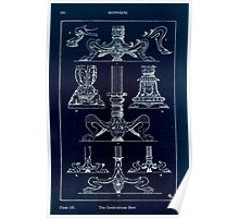A Handbook Of Ornament With Three Hundred Plates Franz Sales Meyer 1896 0236 Supports Candelabrum Base Inverted Poster