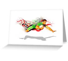 Diving Try Greeting Card