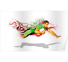 Diving Try Poster