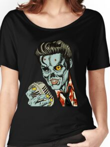 Zombie Elvis (Hail to the King, Baby) Women's Relaxed Fit T-Shirt