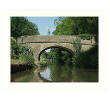 Reflections - Kennet & Avon Canal Art Print