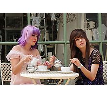 Cafe Girls 3 Photographic Print