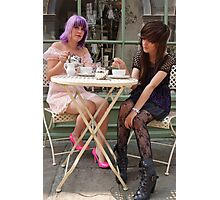 Cafe Girls 4 Photographic Print
